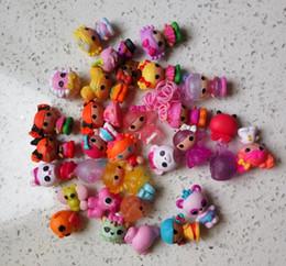 Doll Bulk Canada - 50pcs lot MGA mini Lalaloopsy Doll the bulk button eyes toys for girl classic toys Brinquedos
