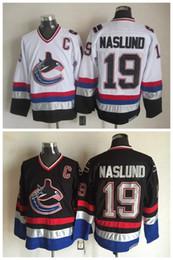 72b7cb260 ... Men Vancouver Canucks Ice Hockey Jerseys Cheap 19 Markus Naslund  Throwback Vintage CCM Authentic Stitched Jerseys ...