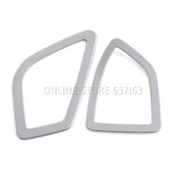 $enCountryForm.capitalKeyWord UK - Stainless Steel Dashboard AC Air Vent Trim cover For BMW 3 4 Series F30 F32 F34 F36 LHD Car Styling