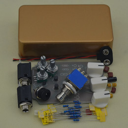 Effects Pedal Kit Australia - NEW DIY Tremolo Pedal pedal kit Electric guitar effect pedals Gold