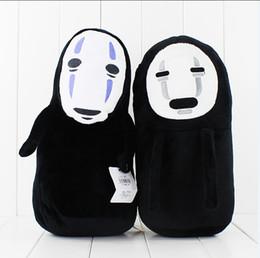 Ems Kid Toys NZ - Anime Cartoon Miyazaki Hayao Spirited Away No Face Plush Toy Soft Stuffed Animal Doll kids toy 2pcs lot free shipping EMS