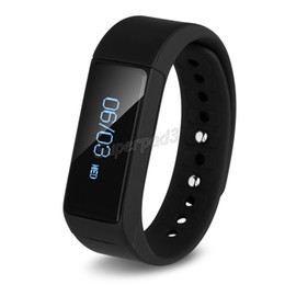 I5 plus wrIstband online shopping - Excelvan I5 Plus Smart Bracelet IP67 Bluetooth Waterproof Touch Screen Fitness Tracker Health Wristbands Sleep Monitor Smart Watch DHL