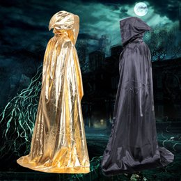 $enCountryForm.capitalKeyWord Canada - New hot Anime Cosplay Clothes Halloween Costume Theater Prop Death Hoody Cloak Devil Long Tippet Adult Cape Wizards Cloak