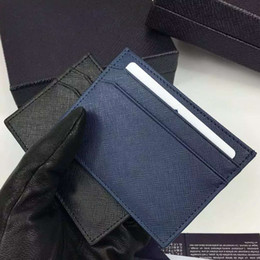 Fashion Suits England Canada - 2016 New Fashion High quality Genuine Cowhide Leather Men's credit card holder Luxury Famous Brand Men id card business Suit Wallets 2MC149