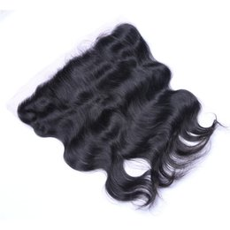 $enCountryForm.capitalKeyWord UK - 7A Quality Malaysian 13*4 Body Wave Lace closure No Shedding Free Tangle Full And Thick Free Shipping Fee DHL
