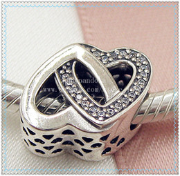 $enCountryForm.capitalKeyWord Australia - 2016 New Spring S925 Sterling Silver Entwined Love Charm Bead with Cz Fits European Jewelry Bracelets