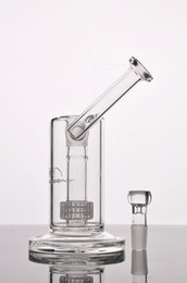 Perc PiPes online shopping - New Mobius Matrix sidecar glass bong birdcage perc glass Bongs thick glass water smoking pipes with mm joint