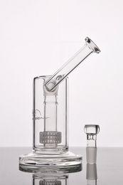 Ingrosso Nuovo Mobius Matrix sidecar bong in vetro per gabbia per uccelli in vetro Bong con tubi in vetro spesso con giunto da 18 mm