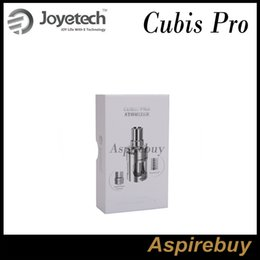 Atomizer for evic online shopping - Joyetech CUBIS Pro Atomizer Cubis Pro Tank ML with New QCS LVC Head Innovative Cup Design for eVic VTwo Mod Mini Mod Original