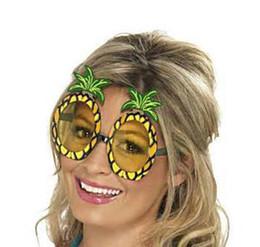 d5cfcd3a9575 Hawaiian Costume Party Canada - Beach Hawaiian Party Luau Pineapple Fancy  Dress Costume Specs SunGlasses Glasses