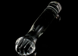 Barato Super Vibradores-Novelty Huge Glass Fist Dildo, Super Big Dick Vibrador, Penis Vibrator, Masturbação Feminina Erotic Play Sex Products