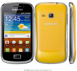 Gps Wi Fi Canada - S6500 Original Samsung Galaxy mini 2 S6500 Mobile Phone GPS Android Wi-Fi 3.15 MP cell phone In Stock