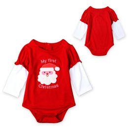 $enCountryForm.capitalKeyWord UK - Belababy baby boy clothing sets Girl Christmas clothes sets 2016 children Baby Romper climb leotard sets sport suit