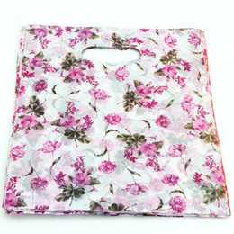 pvc plastic bags wholesale UK - Hot sell ! 300pcs 20X25cm Rose Flower Plastic Bags Jewelry Gift Bag, Jewelry Pouches