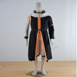 Costume Traineau Natsu Pas Cher-Nuova versione fée queue natsu dragneel cosplay costume qualsiasi formati includo la sciarpa Cosplay Costume Adulte Unisexe Chrismas