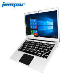 Chinese  New Version Jumper EZbook 3 Pro Dual Band AC Wifi laptop with M.2 SATA SSD Slot Apollo Lake N3450 13.3'' IPS 6G DDR3 ultrabook manufacturers