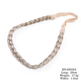 Synthetic hair braided headband online shopping - Neitsi PC Synthetic Headband Braided Hair Platied Wedding Hair Accessories Head Wear For Fashion Women Girls