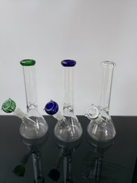 base bongs NZ - Bongs!Glass bongs Bong Hitman Glass Beaker Base Water Pipe with Diffused Downstem 18.8mm Joint 10 inches pure glass bong Hookahs