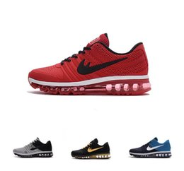 New Max 2017 Mens Running Shoes Sneakers 2017 Maxes Athletic Shoes Men  Sports Shoes Maxes KPU US 7-12
