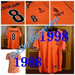 Holland Football Shirt NZ -  12 Van Basten Retro Soccer Jersey 88 Netherlands  Jersey 1988 6f4f94a8f