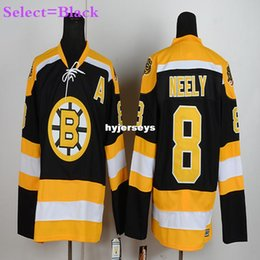 407c85fd4 ... Discount cam neely white jersey Mens 8 Cam Neely Yellow Gold White Home  Throwback Embroidery CAM NEELY Boston Bruins 1990 CCM Vintage ...