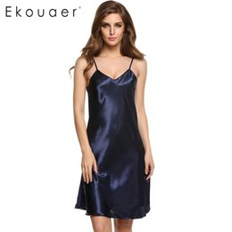 Nouvelles Robes Élégantes Pour Dames Pas Cher-Wholesale-Avidlove Brand 2015 Nouveaux Stylish Ladies Women Lingerie Sexy Spaghetti Strap Pijers Vêtements de nuit Pyjamas de robe