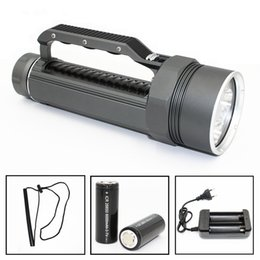 led caving lamp Australia - KC Fire High Quality Diving LED Flashlight 4 Lights Portable Magneto LED Lamp for Cave Hunting Daily Carrying on Foot Camping LED Lamp