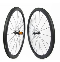 full cycle bikes NZ - 700C 50mm depth light weight full carbon bike tubeless clincher road wheelset super quality wider wheels for cycling freeshipping now