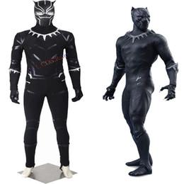 $enCountryForm.capitalKeyWord Canada - HOT Sale Halloween Captain America 3 Guerra Civile Black Panther T'Challa Cosplay Costume Chrismas Customize Lifelike