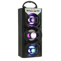 Großhandels-Redmaine tragbarer LED Blacklight Bluetooth Lautsprecher Lautsprecher HiFi Super Bass FM Radio TF Karte, die AUX für Smartphone spielt