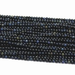 $enCountryForm.capitalKeyWord UK - Excellent Quality(high quality) DIY handmade accessories natural crystal African blue chalcedony 3mm round beads semi - finished 15inch