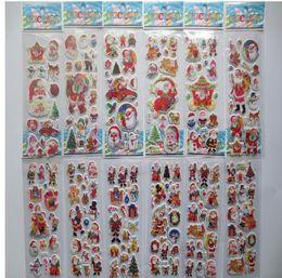 phone kid 2018 - Party Supplies Stars phone Santa Claus 3D PVC Puffy Anime Cartoon Stickers Kids Toys Cartoon Craft Classic Toys Children