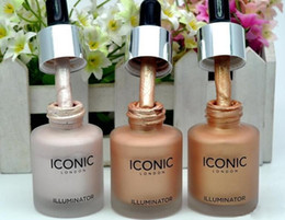 Discount waterproof illuminator - Makeup Iconic London Illuminator Liquid Highlighter Original  Shine  Glow  Colors Face Liquid Highlighter Prime 13.5ML