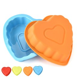 $enCountryForm.capitalKeyWord NZ - CMM04 Heart Shape Silicon Cake Mold Non-stick fondant mold Cooking Moulds DIY Baking Moulds pudding mousse MOLD Bakeware Tools Muffin Mould