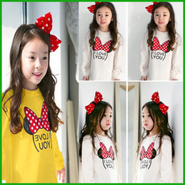 $enCountryForm.capitalKeyWord Canada - Autumn kid clothes baby girls tops lovely cute yellow white letters long sleeve t-shirts butterfly printed children clothing
