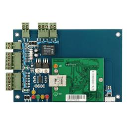 Großhandel Wiegand Single Door 2 Lesernetzwerk 12V Professionelle RFID-IC-Zeiterfassung Zutrittskontrollplatine TCP / IP