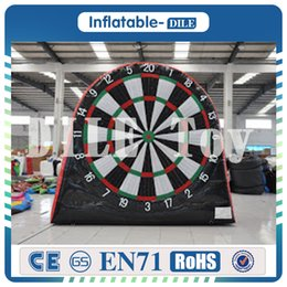 $enCountryForm.capitalKeyWord NZ - High Quality 3m height inflatable dart board inflatable football soccer dart board inflatable soccer darts game