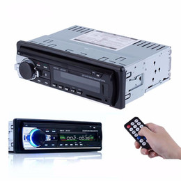Radio usb ReceiveR online shopping - JSD Bluetooth V2 Car Radio Stereo Audio MP3 Player V In dash Single Din FM Receiver Aux Receiver USB SD Remote Control
