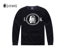 kings sweatshirts UK - free shipping men s-5xl last king round collar man's latest Sweatshirts garment of the lastkings hip-hop hoodies