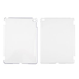 Crystal Hard Shell Case UK - New Crystal Clear Hard PC Plastic Back Case Cover Slim Shell For Apple For iPad Air 2 Wholesale