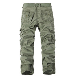 $enCountryForm.capitalKeyWord UK - 2016 Camouflage Trousers Full Length Military Pants Men Fashion Sport Cotton Outdoor Army Sweatpants Size 28,29,30,32,34,36,38,40,42