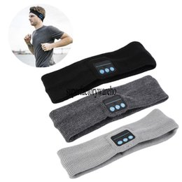 China Fashion Wireless Bluetooth Hat earphone Headset Headphone Bluetooth speaker Outdoor Sports Yoga Sweat Scarf mp3 Player Handsfree suppliers