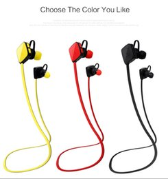 m3 cell phones UK - M3 Universal Sports Sweatproof Wireless Bluetooth Earphone V4.1 Stereo Headset Bass Headphones with Mic In-Ear for iPhone Samsung SmartPhone