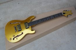 $enCountryForm.capitalKeyWord Australia - Free shipping 2018 F hole jazz electric guitar Gold color finished, with Gold Hardware!