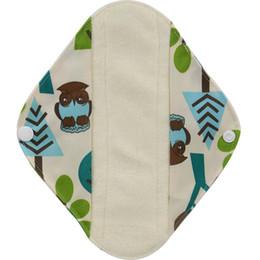 S M L многоразовые Водонепроницаемые бамбуковые ткани трусики лайнера Гигиенические прокладки менструальной ткани колодки здоровья и красоты
