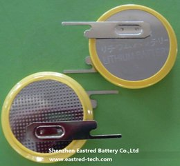 $enCountryForm.capitalKeyWord Canada - 1000pcs Welding CR2032-1VC CR2032 Button cell with 2 pin Tabs, vertical mount through hole type