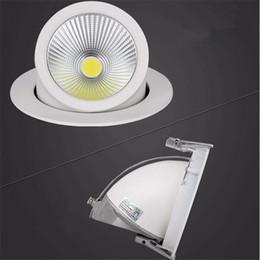 Adjustable Dimmable Down Light NZ - LED Downlight 15W 25W 35W Ceiling Down Light Dimmable Adjustable Rotatable LED Trunk Light Gimbal Gimble Direction LED Spot Light