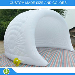 Tents Events Canada - portable outdoor inflatable dome tent with led big tents for events cheap party tent