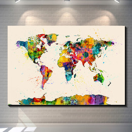 Vintage World Map Poster Canada | Best Selling Vintage World Map ...