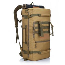 38f806f1c4 2016 Hot Zaino Tattico militare Outdoor Sport Zaino Trekking Campeggio  Uomini Borse da viaggio Camouflage Laptop Backpack Leone locale 54